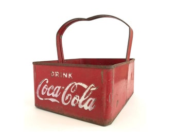 Coca Cola Coke Stadium Ballpark Carrier Cooler from the 1940s