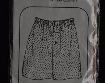 Men's Boxer Shorts Pattern - Sizes S/M/L - UNCUT - Grande Pattern 7222