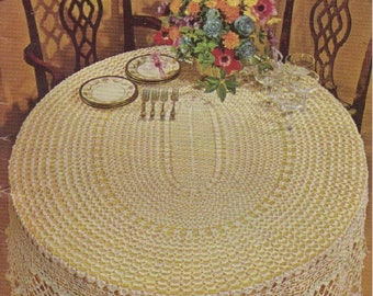 """Vintage Crochet Patterns """"Tablecloths and Bedspreads"""" - from The American Thread Co., Star Book No. 224"""