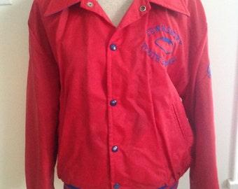 Vintage Tewsbury Youth Football Adult 80s Jacket