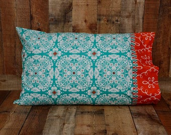 Standard Pillowcase - Fancy Pillowcase - Summer Bedding - Summer Pillow Cover - Bedroom Decor - Mother's Day Gift - Bright Pillow Case