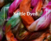 Kettle Dyed - Kettle Dyed Hand painted Spinning Fiber Tutorial