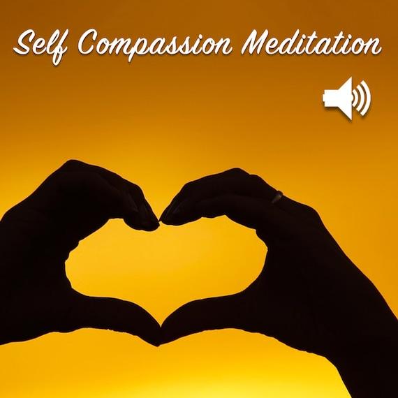 Self Compassion Meditation Audio File (MP3)