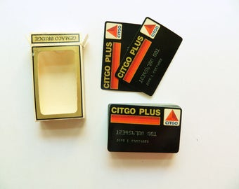 Citgo Playing Cards - Complete Deck - Citgo Plus Credit Card Promotion