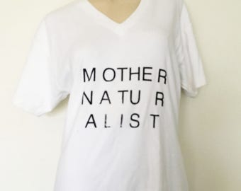 mother naturalist tshirt ASR v-neck