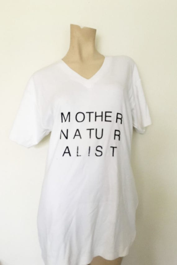 mother naturalist tshirt ASR v-neck