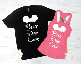 Disney Cruise Shirts, Disney Vacation Shirts, His and Hers Disney Theme Shirts, Disney Engagement Shirts, Disney Wedding Shirts