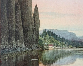Washington, Cape Horn, Columbia River Gorge, 1901, Antique Postcard