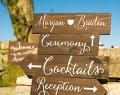 Wedding Welcome Signs - Directional Signs - WS-23
