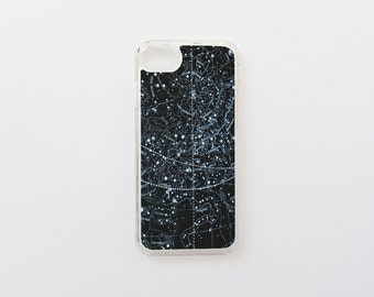 iPhone 7 Case - Constellations iPhone Case - Space iPhone Case - Stars iPhone Case - Hard Plastic or Rubber