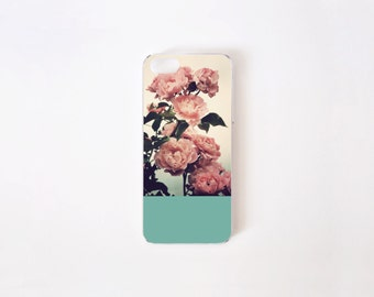Floral iPhone SE Case - iPhone 5/5s Case - Vintage Roses iPhone Case - Vintage Print iPhone Case - Pink Roses