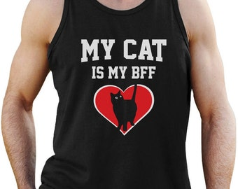 My Cat is My BFF - Men's Tank Top Singlet