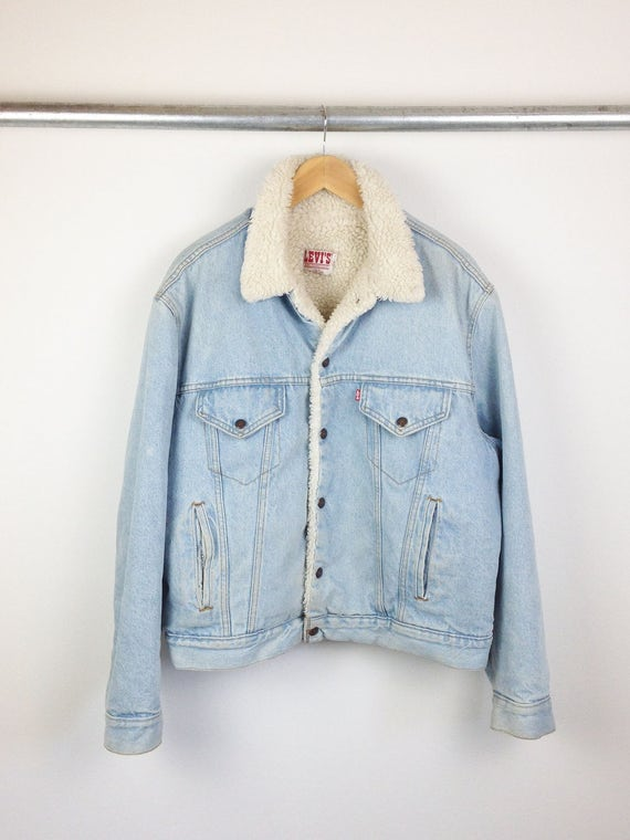 Levi's of San Francisco Denim Sherpa Jacket