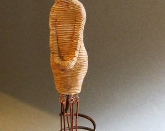 Spring: A one of a kind handmade sculpture