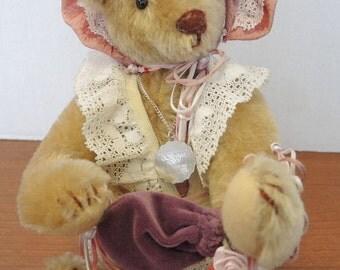 1986 Ltd Ed Beverly Port Gorham Time Machine Bear * 822/2500 * TEDWINA KIMELINA