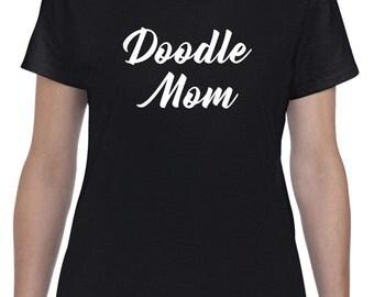 Doodle Mom Shirt Goldendoodle Dog Tshirt