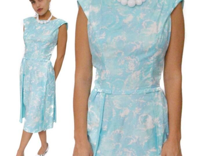 Vintage 60s Jeanette Alexander of California Sheath Dress