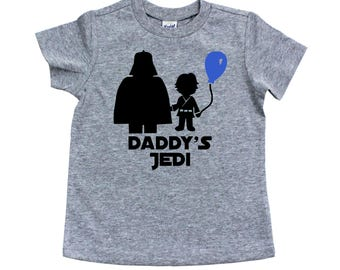 Daddy's Jedi Star Wars Shirt - Jedi Star Wars Boy's Shirt - Star Wars Birthday Gift - Gift for Boys - Infant Toddler Youth T-Shirt
