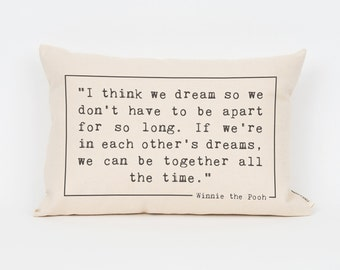 Custom Quote Pillow, Gift for Sister, Inspirational Quote, Design Your Own, Engagement Gift, Gift for Best Friend, Decorative Pillow