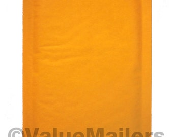 250 000 Kraft Bubble Lite Bubble Mailers 4x8 #000