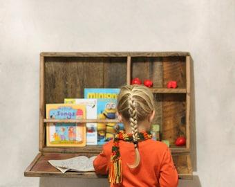 Children's Desk  made from Reclaimed Wood - Kids Desk - Play Desk