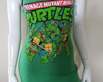 TMNT Teenage Mutant Ninja Turtles Tank Top Dress