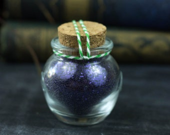 Wizard's Robe Purple Pixie Glitter Bottles For Art, Craft & Shenanigans