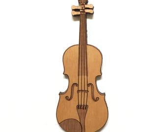 Violin / Viola Wood Magnet