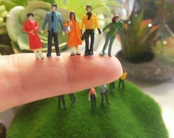 10 pieces lots diorama little people figurines plastics