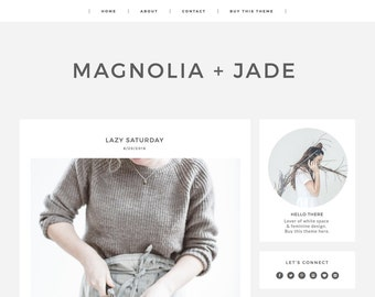 Blogger Template Responsive - Blogger Theme - Blogger Templates - Blogger Template Minimal - Clean Blog Design - Modern Blog Design