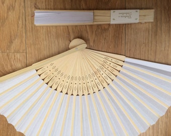 Wedding hand fan