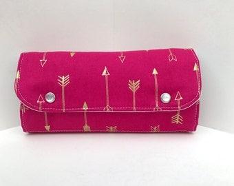 Essential oil purse / Essential oil case / Oil bag / Essential oil travel case