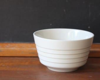 Vintage White Ironstone Bowl
