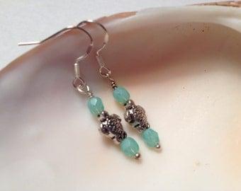 Tiny Sea Turtle Earrings