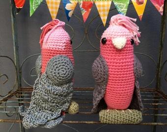 Crochet Galah Pattern