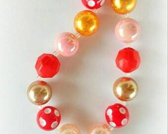Princess Chunky Necklace / Moana Bubblegum Necklace