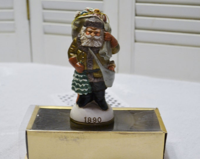 Vintage Old World Santa Claus 1890 Ornament Christmas Reproduction Inc Christmas Tree Holiday Decor PanchosPorch