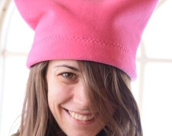 Pink Polartec Pussyhat  100% USA Made