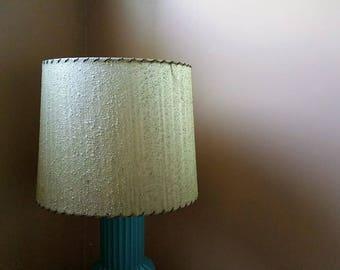 MCM Fiberglass Drum Lamp Shade