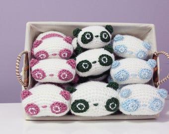 Stackable Tarepanda Crochet Amigurumi Doll