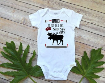 First Birthday Shirt, Lumberjack Birthday, Baby Boy Birthday shirt, Personalized Birthday Boy shirt,Lumberjack Party, Woodland Party Set