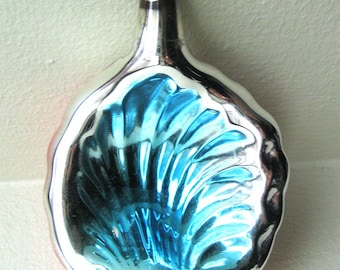 Antique Mercury Glass Seashell Ornament