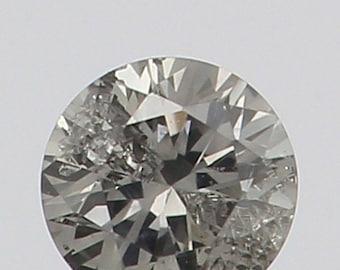2.20 MM 0.041 Ct Natural Loose Diamond Cut Round Shape Fancy White Color L7504