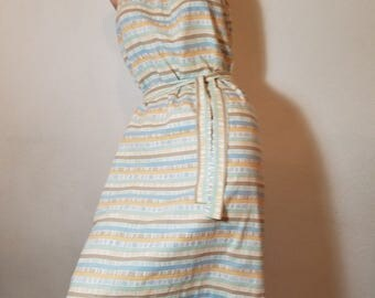 FREE  SHIPPING  1960  Mod  Marimekko  Dress