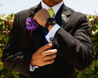 Superhero Cufflinks, Superhero Cuff Links, Personalized Cuff Links, Personalized Cufflinks, Custom Cufflinks made with you photo or message