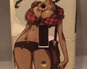 Zombie Tramp Comic Book light switch cover