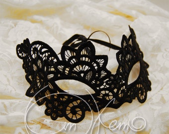 MACHINE EMBROIDERY DESIGN - Venetian mask, free standing lace mask, lace mask, Christmas mask, New Year mask