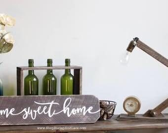 Home sweet home, home sweet home sign, home and living, home decor, wall decor, wall hangings, signs