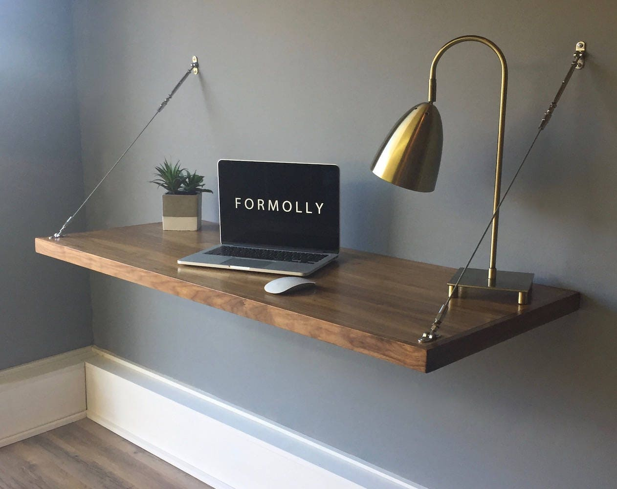 Build Your Own Folding Wall Desk