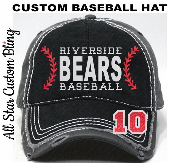 items similar to glitter baseball team hat baseball